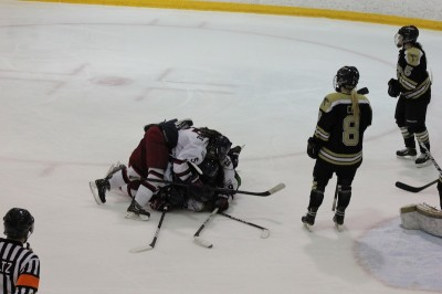 Women's Ice Hockey: Hard fought victory over Lindenwood