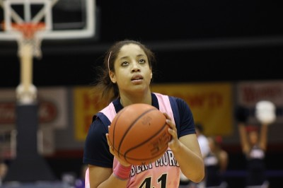 Jackson, RMU women's basketball creating hope through hoops