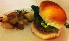 For the Love of Food: Gourmet burgers & potatoes