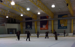 RMU ACHA D-I hockey team thanks fans with open skate