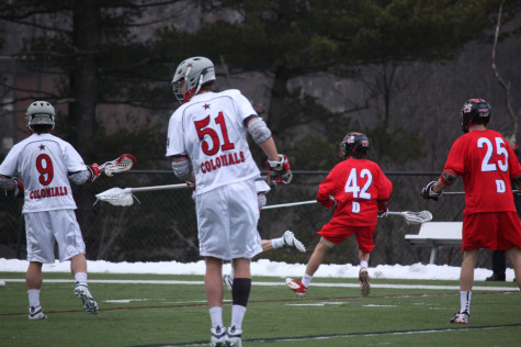 Men's lacrosse falls to Bulldogs on senior day