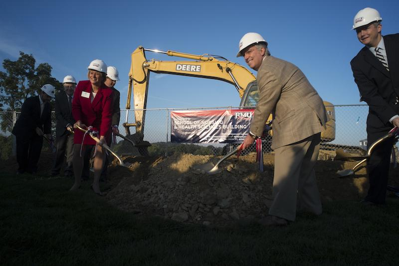 Groundbreaking begins a new era for RMU