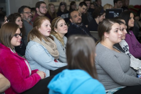 Students give a scare at annual Creepy Conference