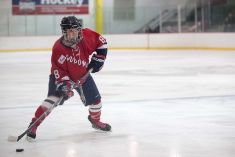 Colonials drop first playoff game to RIT