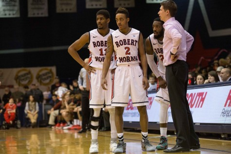 Colonials charge past Saint Francis in regular season finale