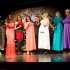 Left to Right:  Michael Goffus as Adele Dazeem, Aaron Cook as Anita Dickerson, Robert Kowaleski as Mia Diction, Patrick Hanolon as Lexi Disa, Ryan Wagner, Tanner Sebastian as Hernia Swanson, Spencer Thurman as Camille Towe, and Clay Glenny as Ophelia Bottoms