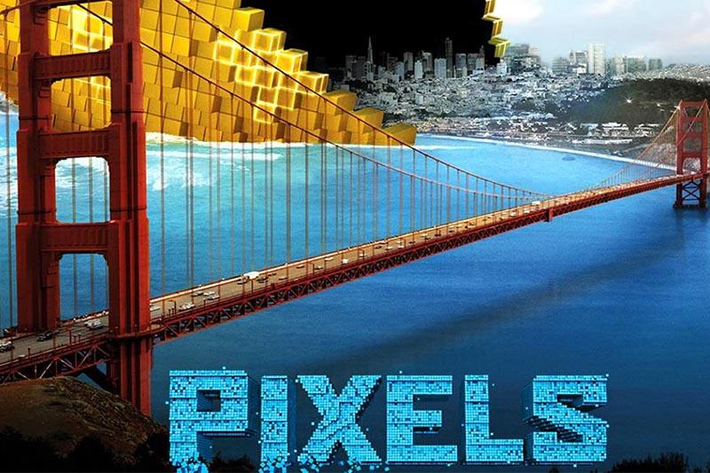 Pixels: Call it game over