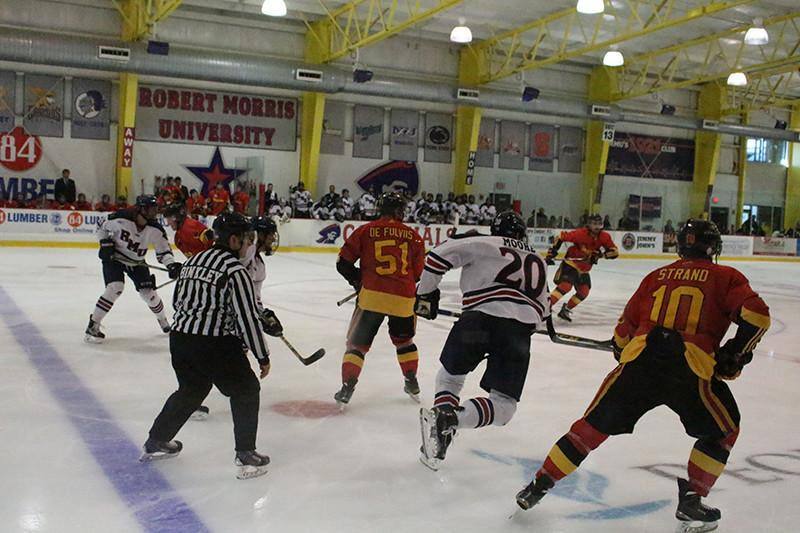 Colonials bounce back with Moore scoring