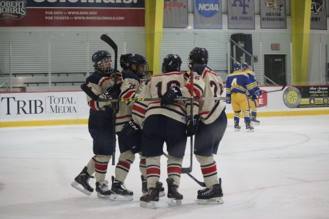 Colonials pull a few tricks and treats for win against Pitt