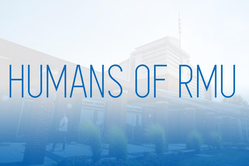 Humans of RMU: The Male Cheerleader