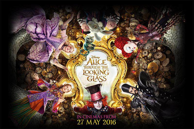 Alice Through The Looking Glass: Nothing to see