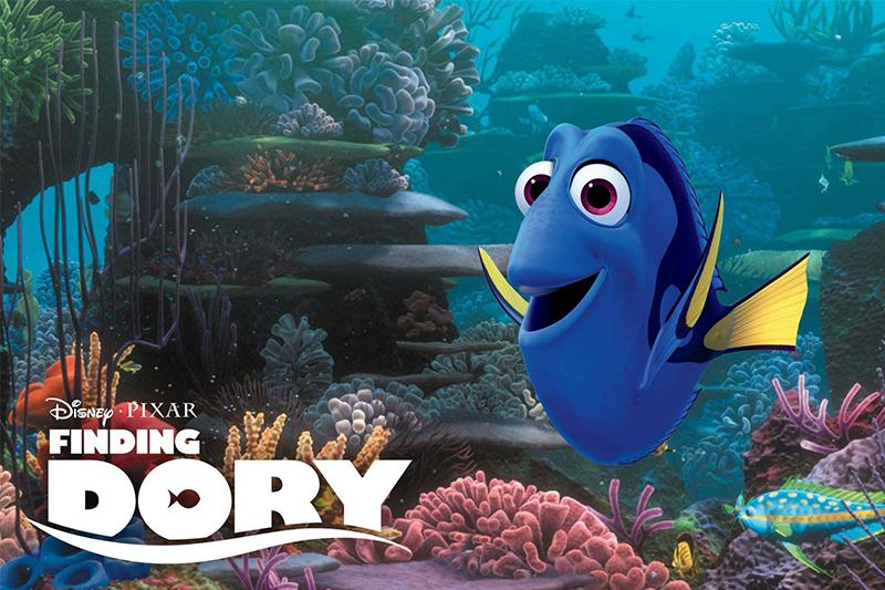 Finding Dory: The forgetful fish who's actually memorable