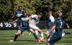 Men's Soccer RMU vs George Washington