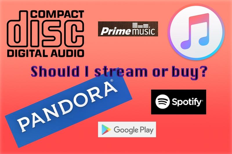 Streaming vs Buying Music