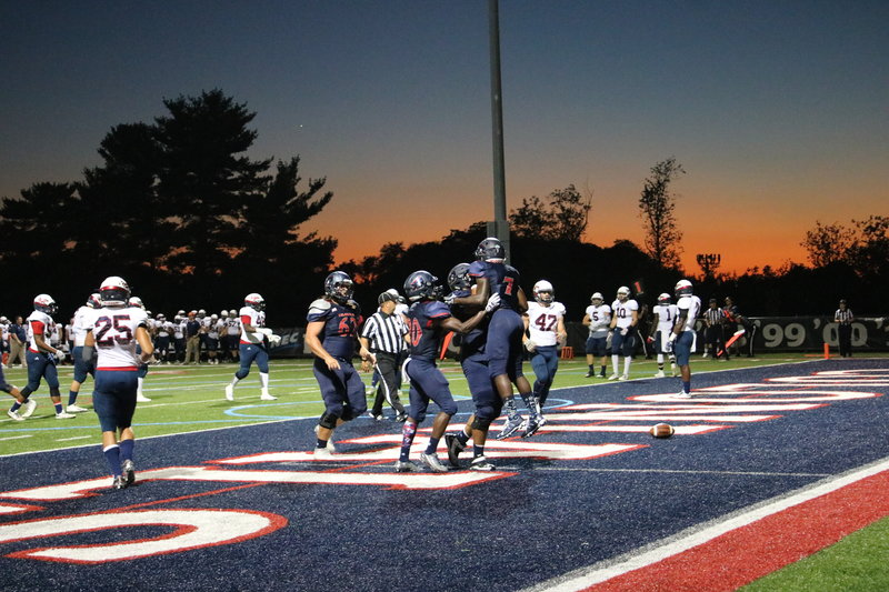 Colonials celebrate first win of season