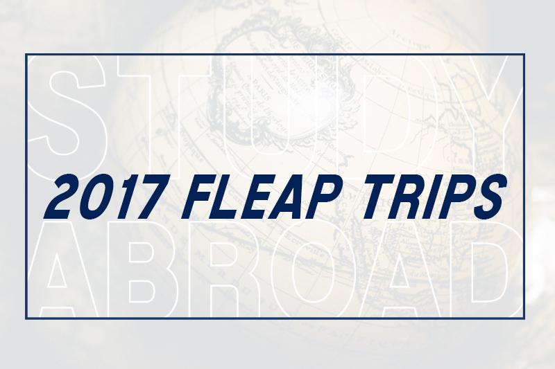2017 FLEAP program destinations announced