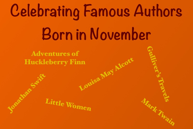 November's famous authors
