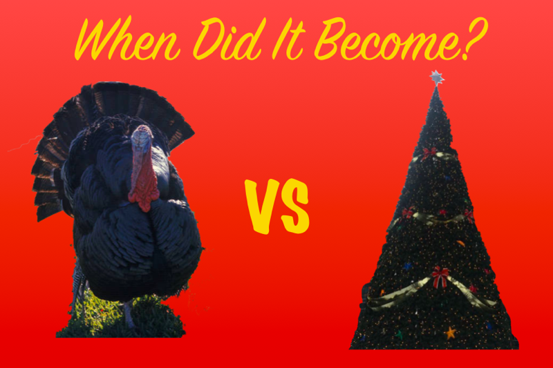 Holiday Cheer: A little too soon?