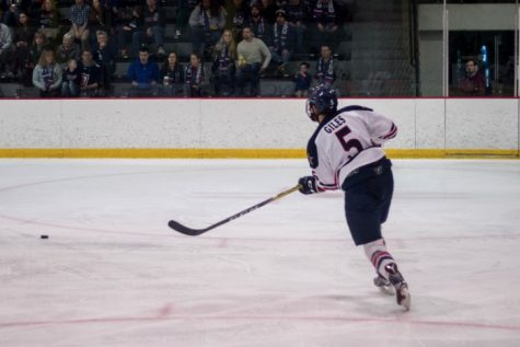 Men's Hockey: RMU vs Bentley Saturday