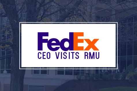 FedEx CEO Visits RMU