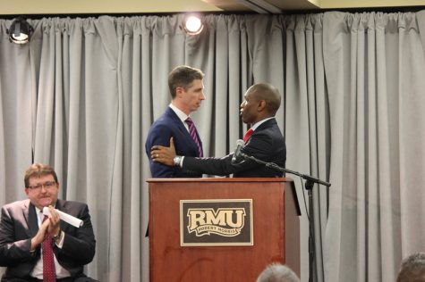 Men's basketball roundup: RMU vs. Bryant
