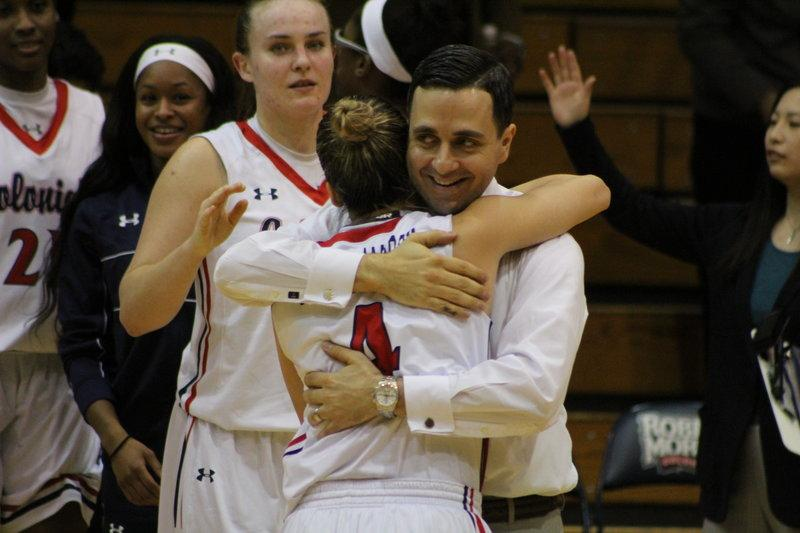 Women's basketball rolls into NEC championship game