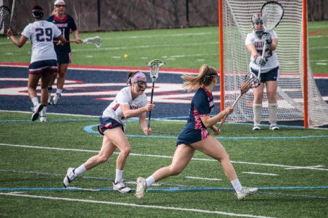 RMU women's lacrosse defeats Duquesne for first time in program history