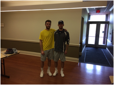 Carter Yepsen (left) and Conner Yepsen (right) Photo credit: Andrew Carrera