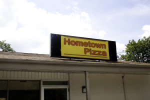 Hometown reopens for business