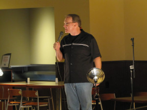 Comedian provides laughs and advice to RMU students
