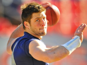 Religion in sports and the Tim Tebow effect