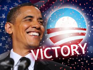 President Barack Obama re-elected President of the United States