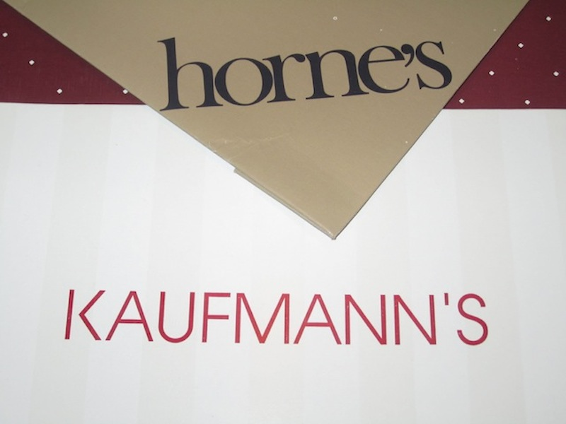 'Round about Pittsburgh: Horne's & Kaufmann's