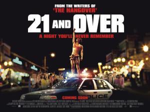 """21 & Over:"" Cheeky jokes, uninspired plot"