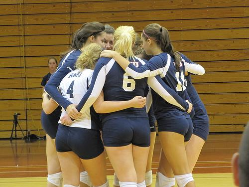 Women's volleyball team hungry for first place finish