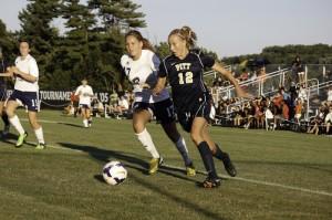 Women's Soccer VS Pitt