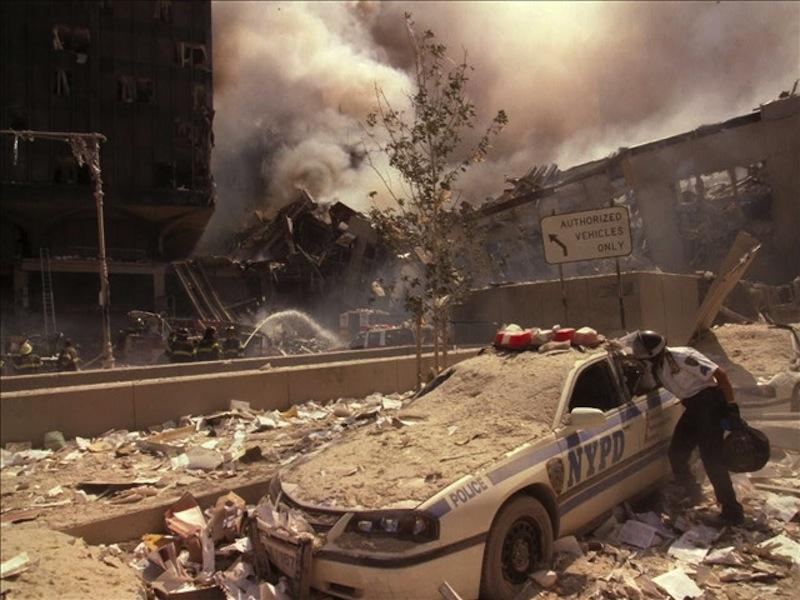 9-11 Ground zero.