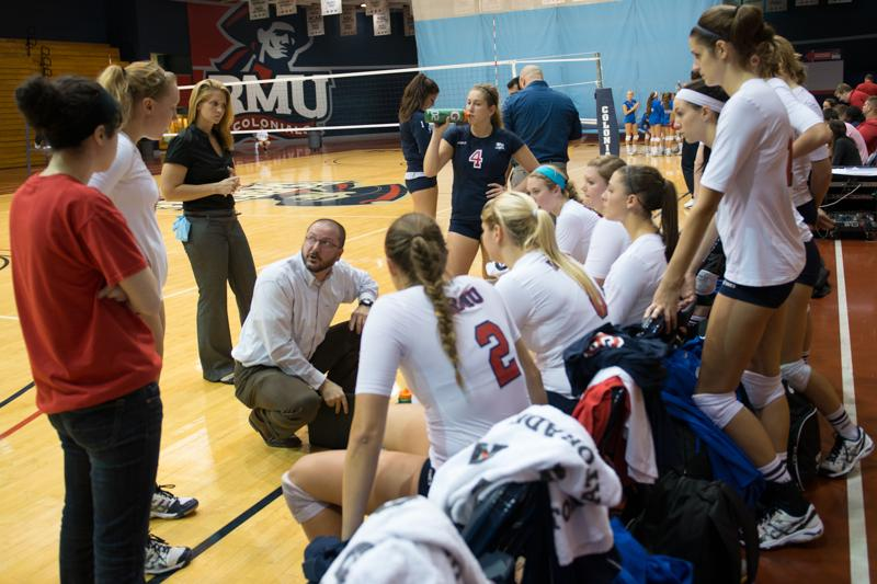 RMU+Volleyball+vs+Saint+Francis