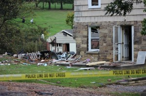 Explosion Saturday night shakes up Moon Twp.
