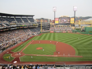PNC Park has been the 'Home' of the Pittsburgh Pirates since 2001.