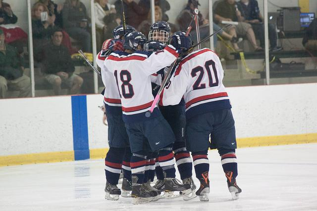 RMU+ACHA+club+hockey+skates+to+5-1+victory+over+SRU