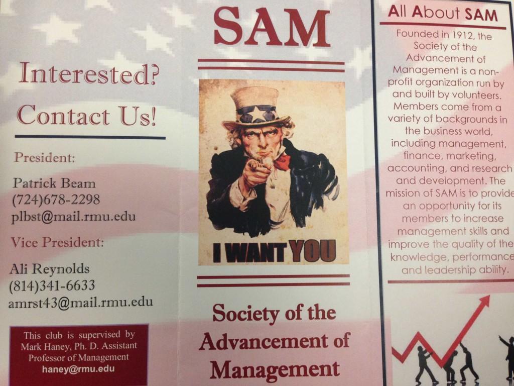 SAM makes way onto RMU student organization scene