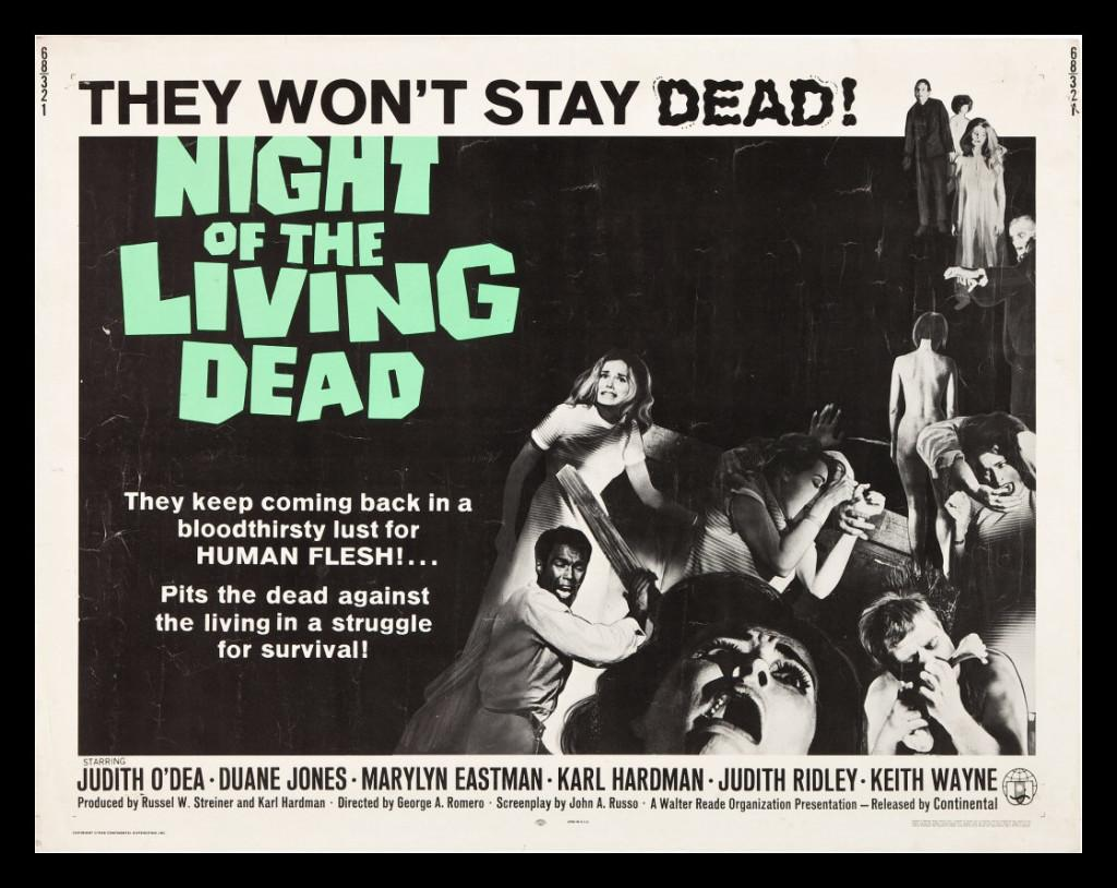 Night of Living Dead poster from cinemasterpieces.com