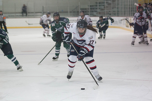 The Colonials were unable to tame the Nittany Lions Friday night as Penn State skated off with a 3-2 overtime victory.