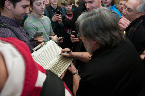 Steve Wozniak visits RMU International Suite