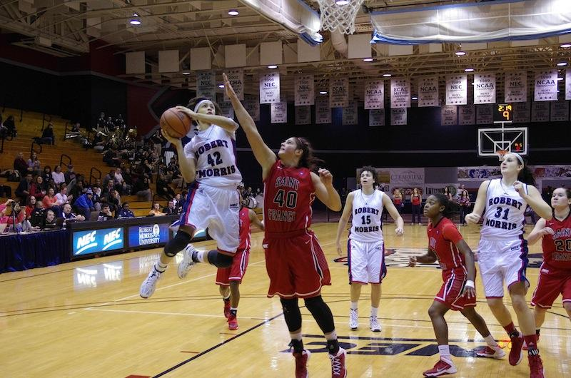 Dead Flash: Spanou, Hartwell lead Colonials over St. Francis
