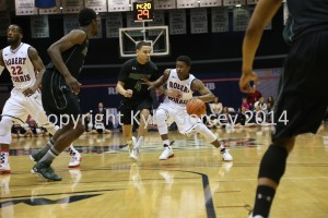 Colonials preserve perfect conference record in win over Wagner