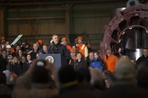 President Obama Visits Mon Valley Works