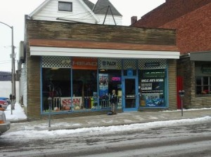 Joe's Scuba Shack is located at 937 Fifth Ave. in Coraopolis