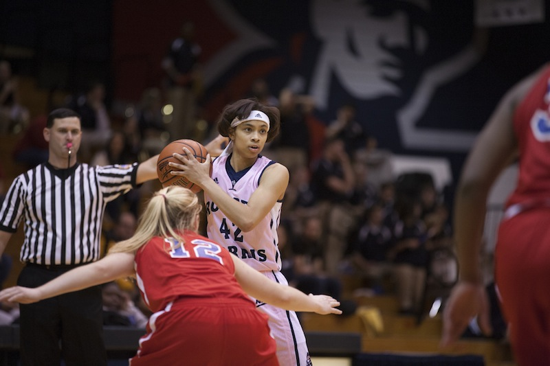 Kelly Hartwell has been key off the bench for the Colonials